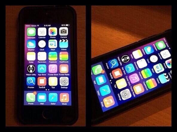 Nuove foto mostrano #iOS8 su #iPhone5s