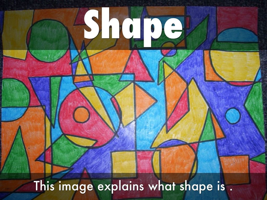 images for > element of art shape example | **e & p | pinterest