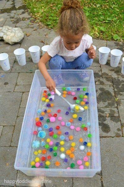 10 activités Montessori enfant de 2 ans et plus - Passionnément, à la folie en 2020 | Idées d ...