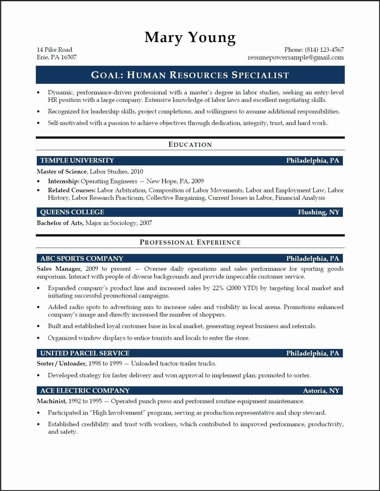 65 new photos of human resources representative resume