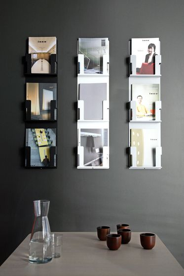 Case Magazine/brochure Holder Is Available As Wall Mounted   Case Inno