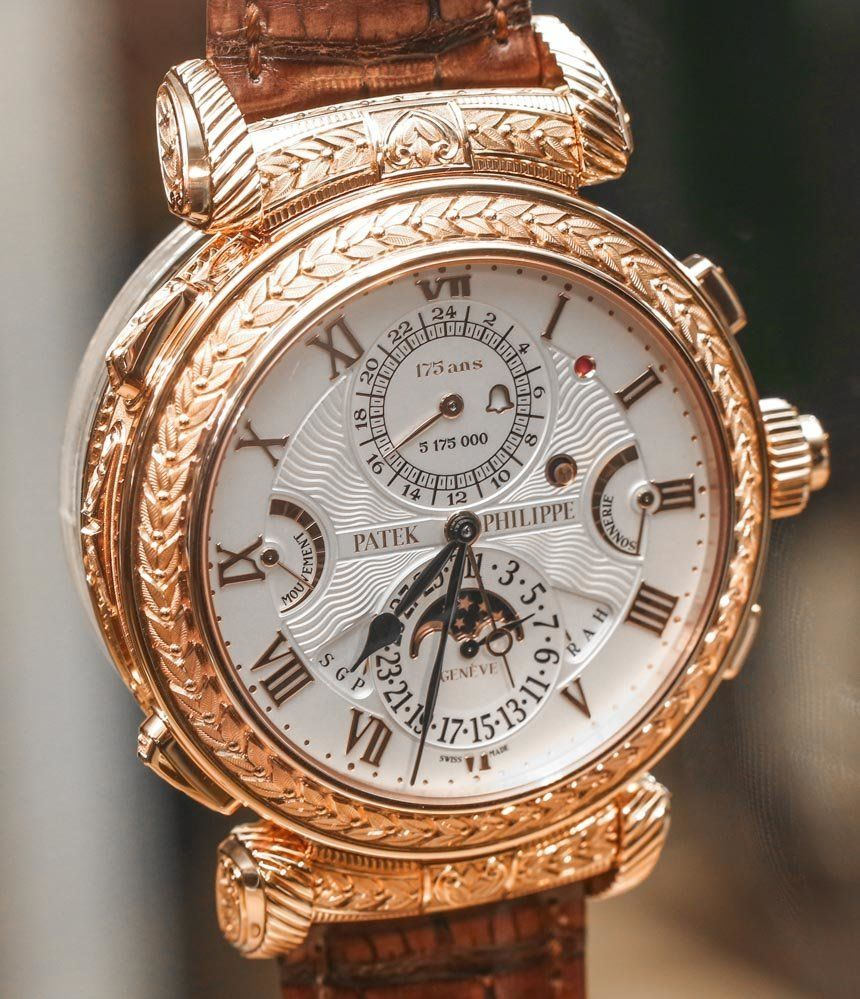 Thoughts On Seeing The 2 6 Million Patek Philippe Grandmaster Chime 5175 Watch In The Flesh Ablogtowatch Luxury Watches For Men Vintage Watches Patek Philippe