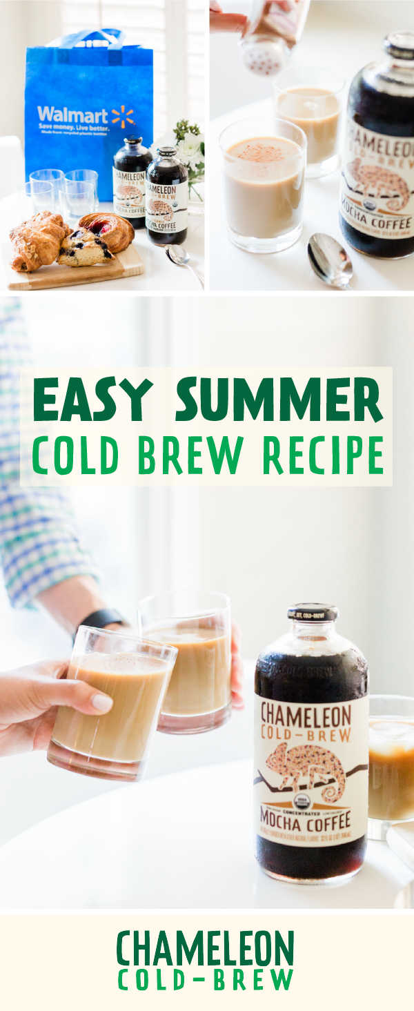Tasty summer coffee with Chameleon ColdBrew Concentrate