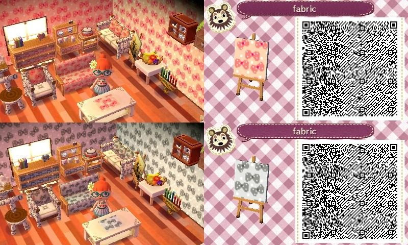 animal crossing white wallpaper qr codes