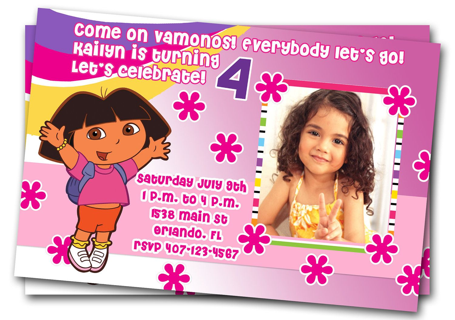 Dora birthday ideas toddlers dora birthday invitations printable dora birthday ideas toddlers dora birthday invitations printable custom party by thepartystork filmwisefo Choice Image