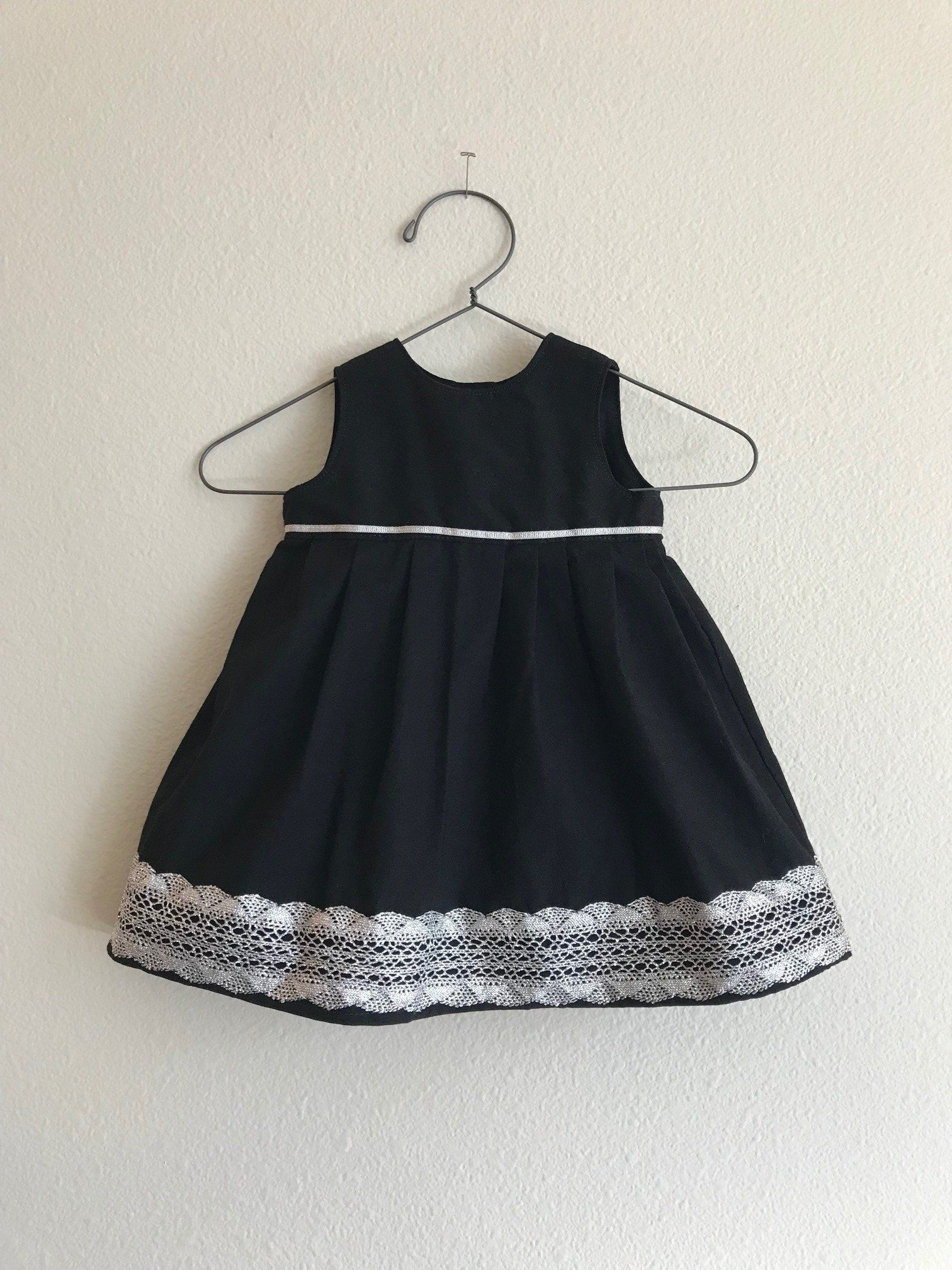 cbcd19e19 Fancy Black Baby Dress