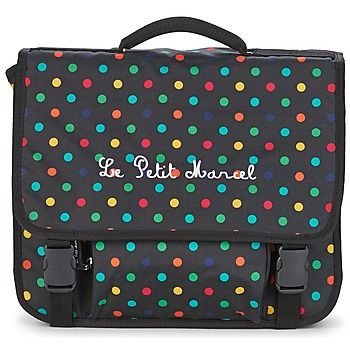 03a27e9596 Little Marcel REGULAR 38 CM Noir / Multicolore school bag spartoo ...