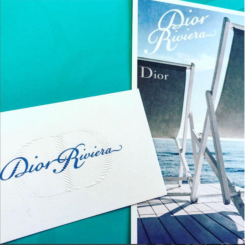 Cartes Postales #Dior #Riviera #gaufrage #carte #parfum #luxe #scentis | Dior, Perfume