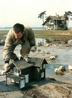 "Tarkovsky tweaks the set of ""The Sacrifice""."