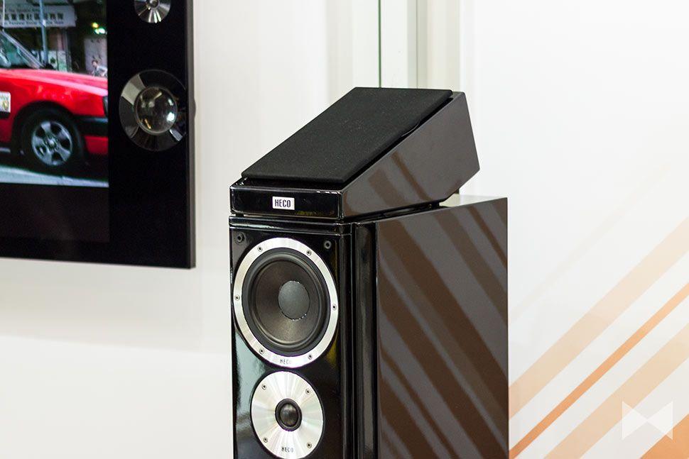 Mit den Heco AM 200 stellt der deutsche Hersteller seine ersten Dolby-Atmos-Lautsprecher vor. Die Deckenstrahler werden auf vorhandene Lautsprecher gesetzt. http://www.modernhifi.de/heco-am-200-150921/