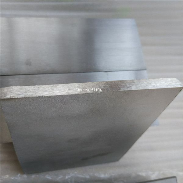 Astm B348 Gr5 Gr2 Gr1 Titanium Flat Bar Sheet Strip Free Shipping Plates Diy Titanium Alloy Metal Working