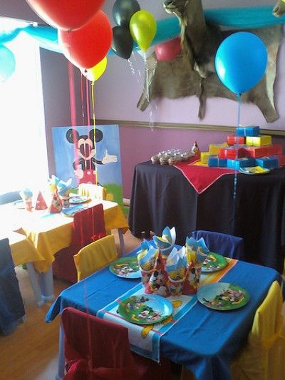 Mickey Mouse Clubhouse Party Ideas Homemade Mickey Mouse Clubhouse