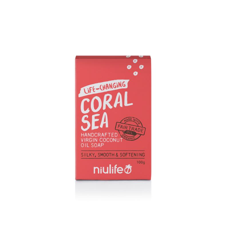 Facial coconut oil soap