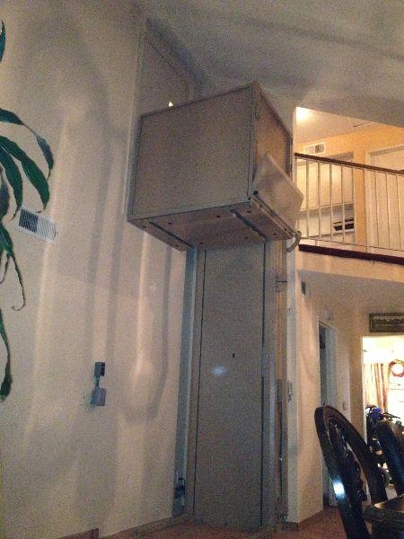 Portable Tall Wheelchair Platform Lift : Ft tall vertical platform lift