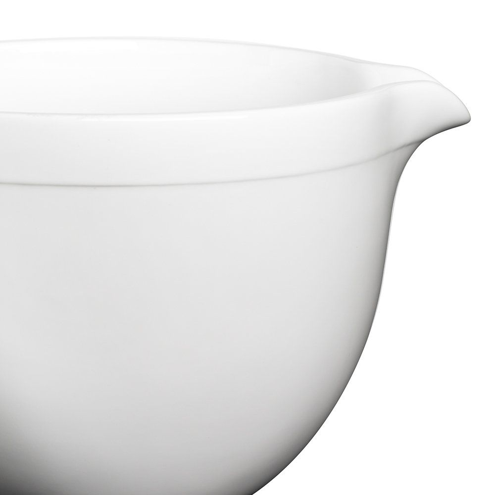 Kitchenaid ksmcb5lw 5qt tilthead ceramic bowl white