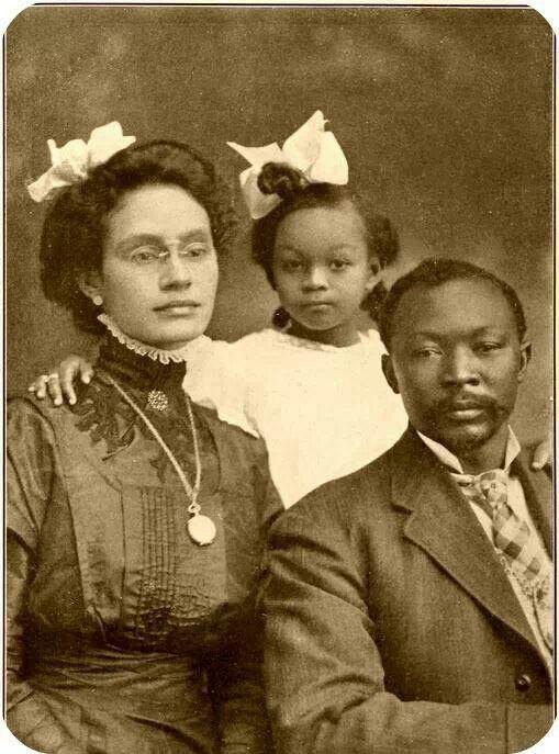 Black family circa 1916