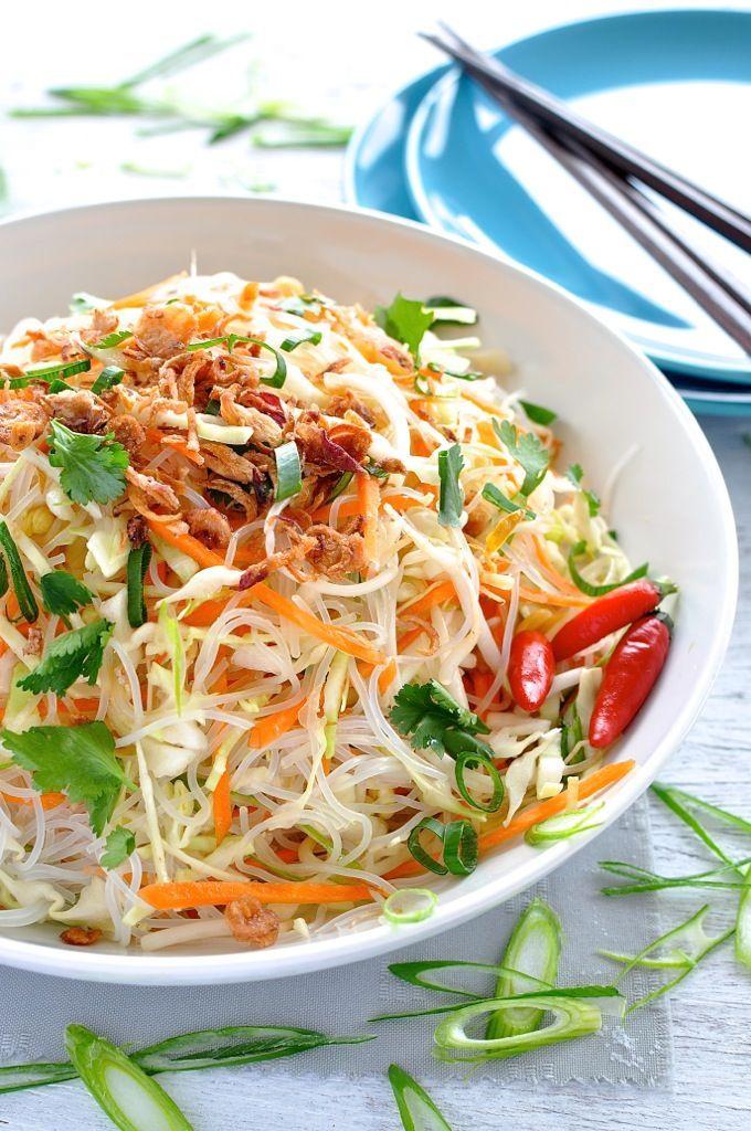 Vermicelli Noodle Salad Recipe Recipetin Eats Asian