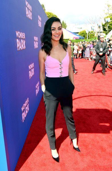Mila Kunis Photos Photos: Premiere Of Paramount Pictures' 'Wonder Park' - Red Ca...