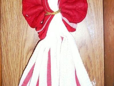 How to Make a Kitchen Towel Angel -- via wikiHow.com