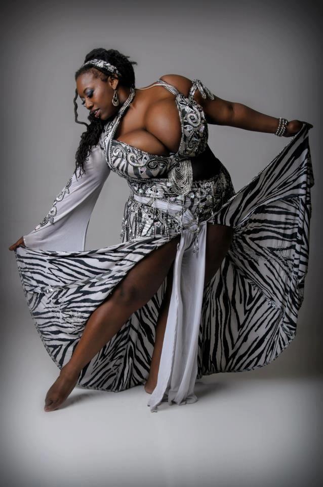 Beautiful BBW Dances
