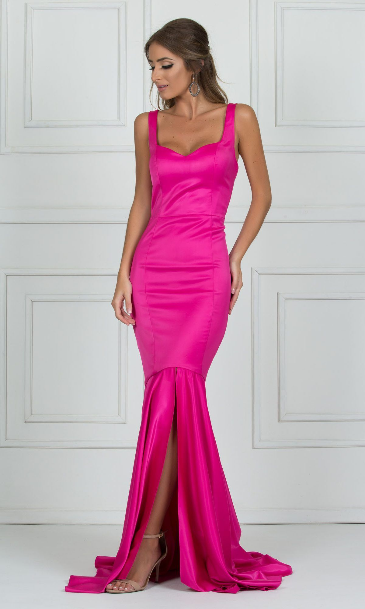 6e3ce83f7c vestido rosa pink sereia