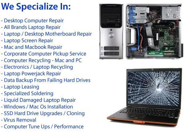 anygadgetrepair on - laptop repair sample resume