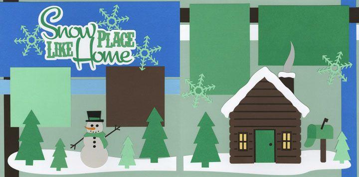 Pin by Amanda Curtis on Scrapbook ideas   Christmas scrapbook layouts, Christmas scrapbook, Snow ...
