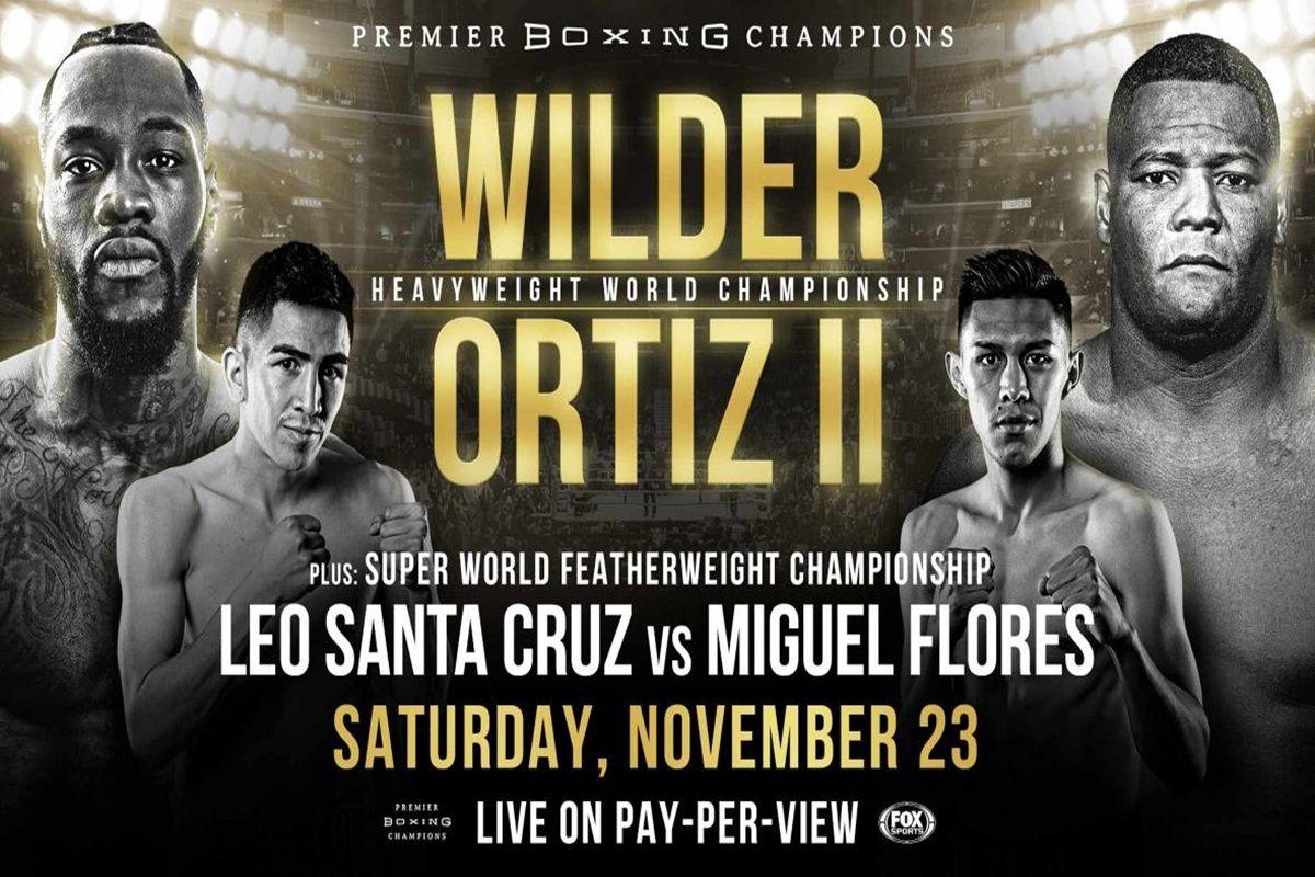 Watch Wilder vs Ortiz live stream full fight free online