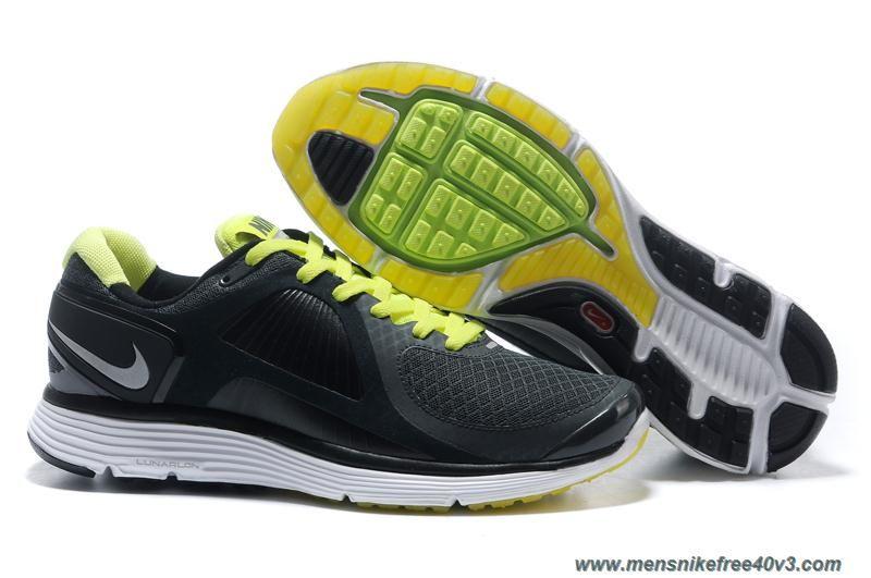 5e9d8e4f8e72 Mens Nike Lunar Eclipse Black Green 408582-008 Sale