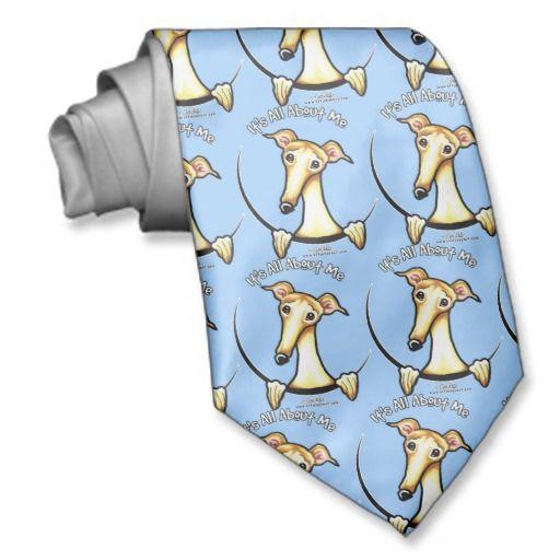 Fawn Greyhound IAAM Necktie