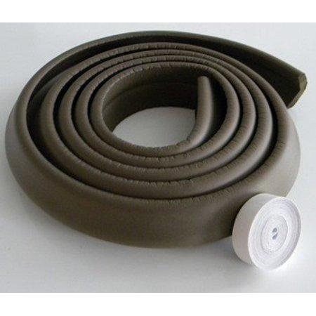 Kidco 10 Foot Foam Edge Protector Brown Counter Top Edges