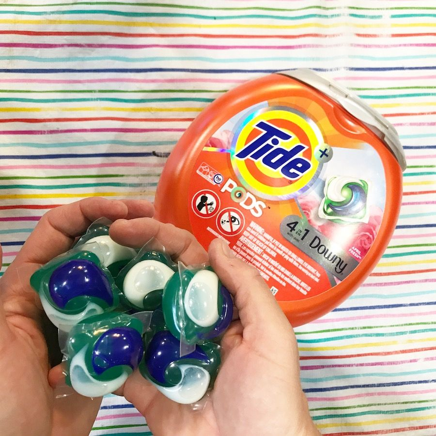 My Laundry Game Has Improved Big Time With Tide Pods