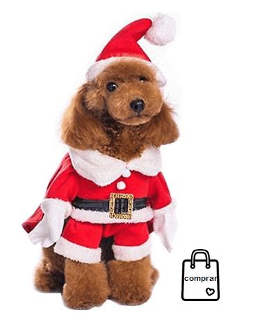 DISFRAZ PERRO Disfraces navideños para perros y gatos  navidad  disfraces   feliznavidad  moda 27913bd7932