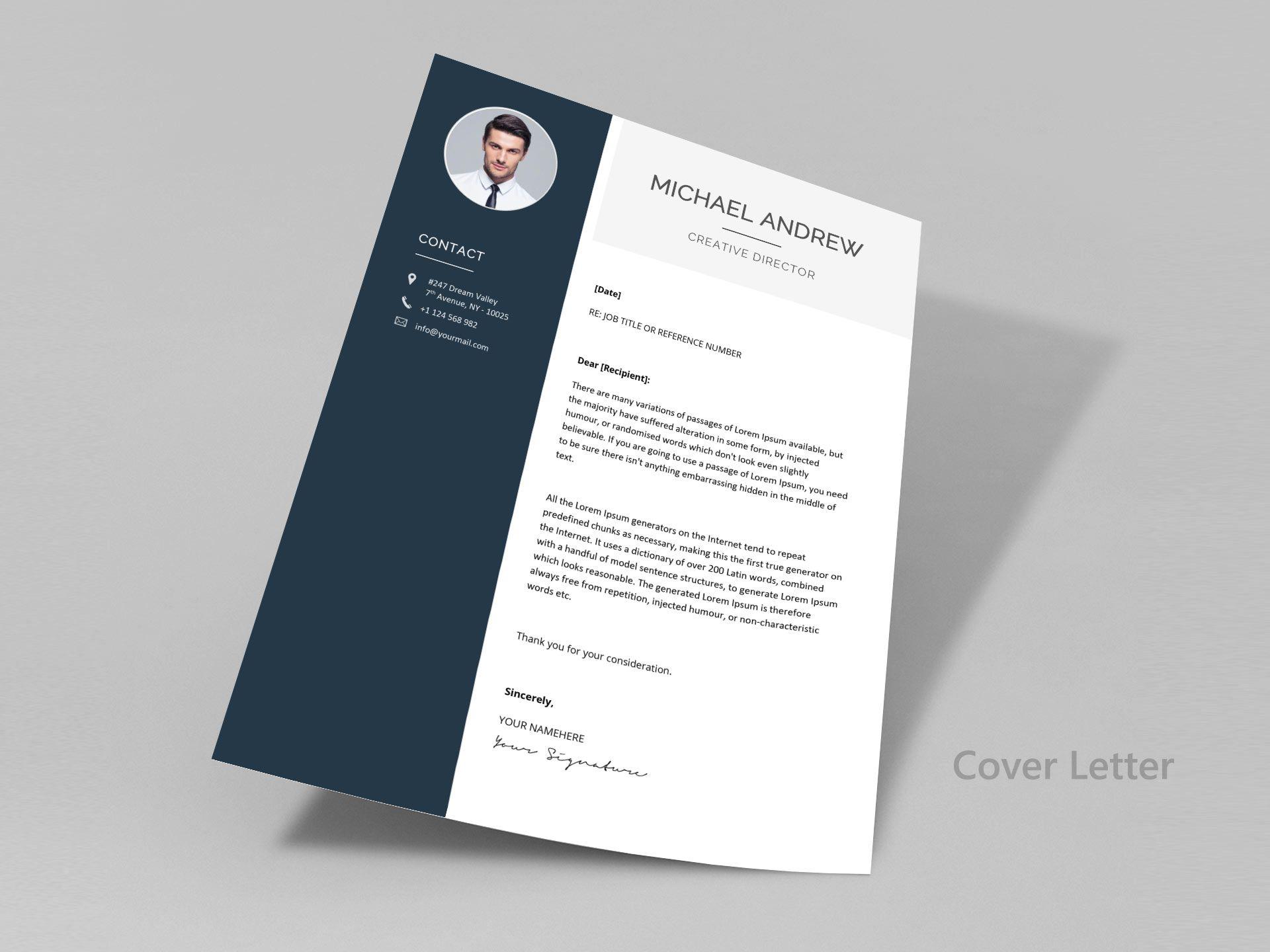150 Creative Resume & CV Template Free Download 2020