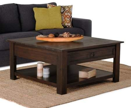 Home Coffee Table Coffee Table Square Contemporary Modern
