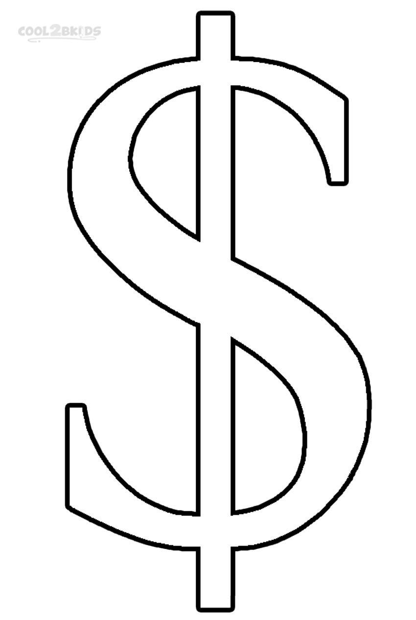Printable Money Coloring Pages For Kids   Cool2bKids   Miscellaneous ...