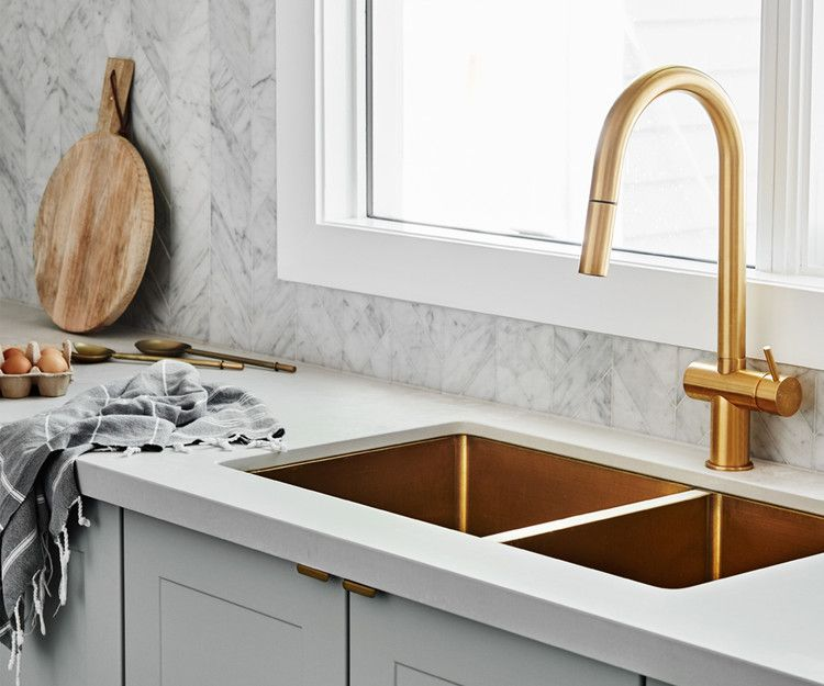 Kitchen And Bathroom Tapware Trends For 2020 Homes To Love Kitchen Sink Design Bathroom Tapware Budget Kitchen Makeover
