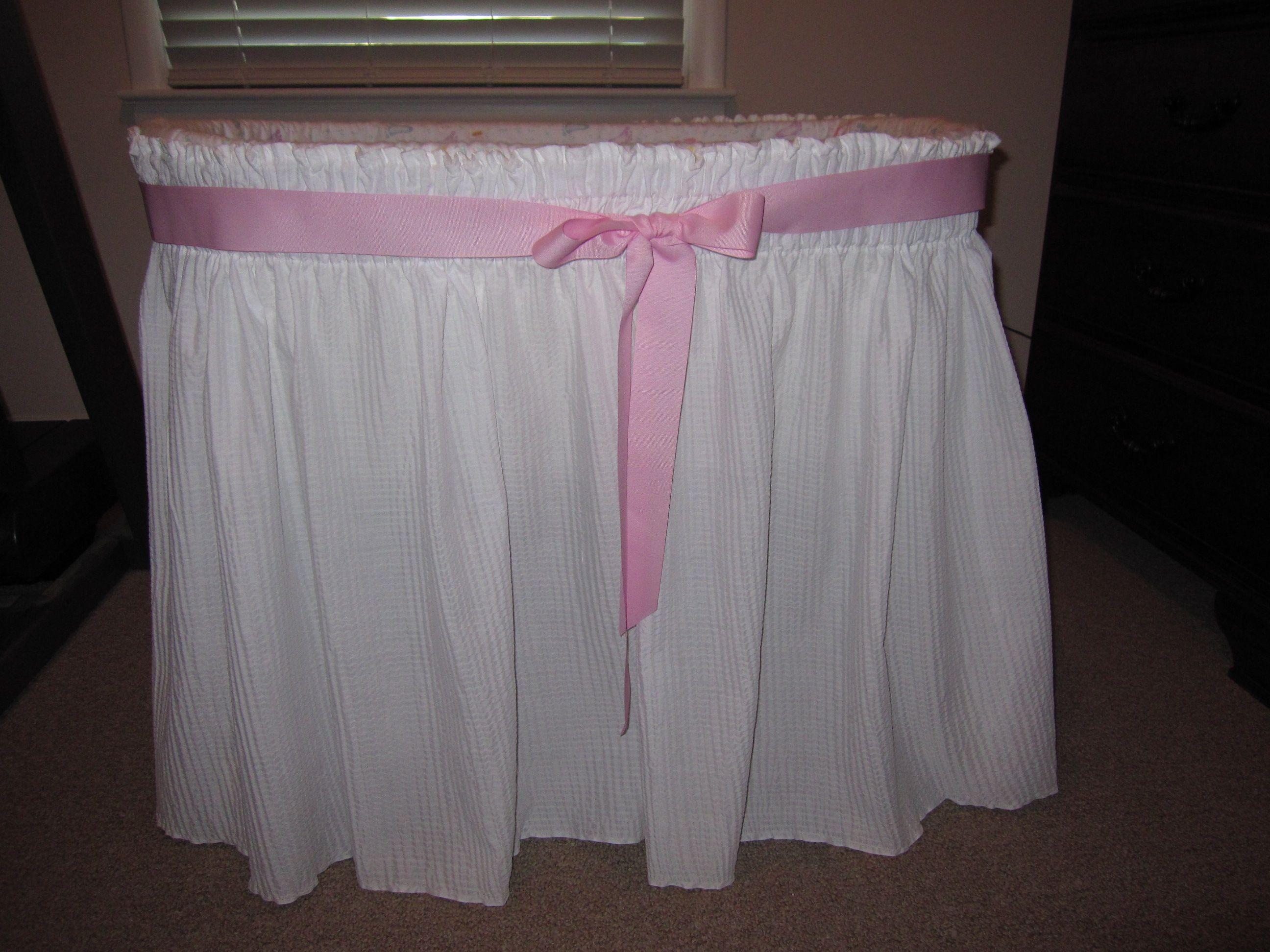 Baby Bassinet Skirt 70