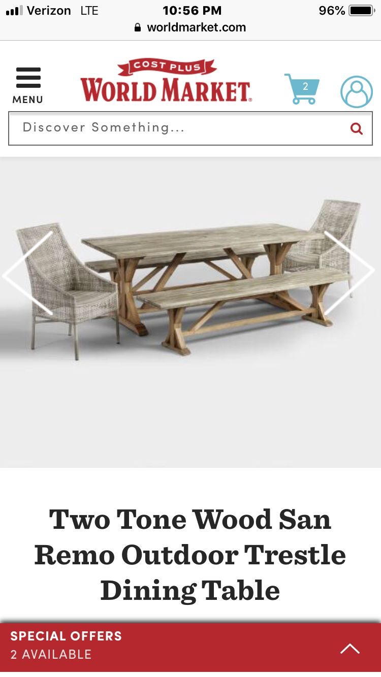 Pin by Bri Shae on Curb Appeal | Trestle dining tables ...