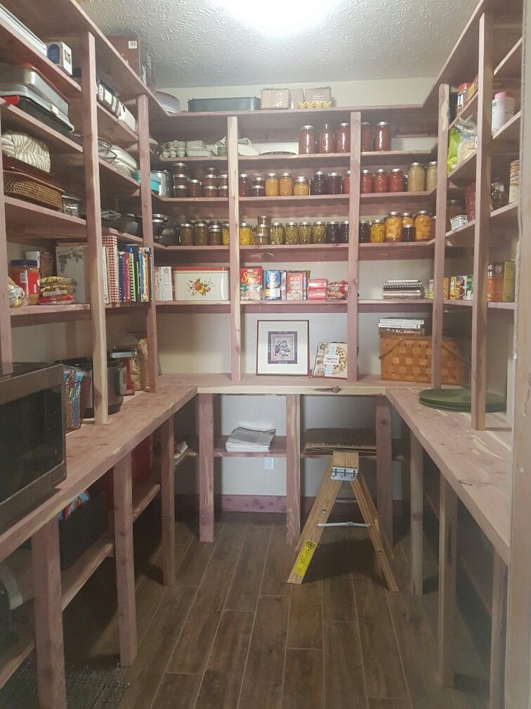 My Cedar Pantry Built By My Husband My Favorite Room In