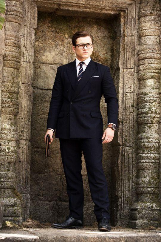 Taron Egerton l Gentleman Styles   Kingsman, Kingsman suits