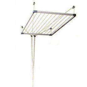 Kopen Tezno Plafond Waslijn Extensible Cuncial Waslijn Droogrek Wasrek