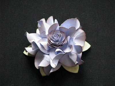 Elegant ruffled flower tutorial