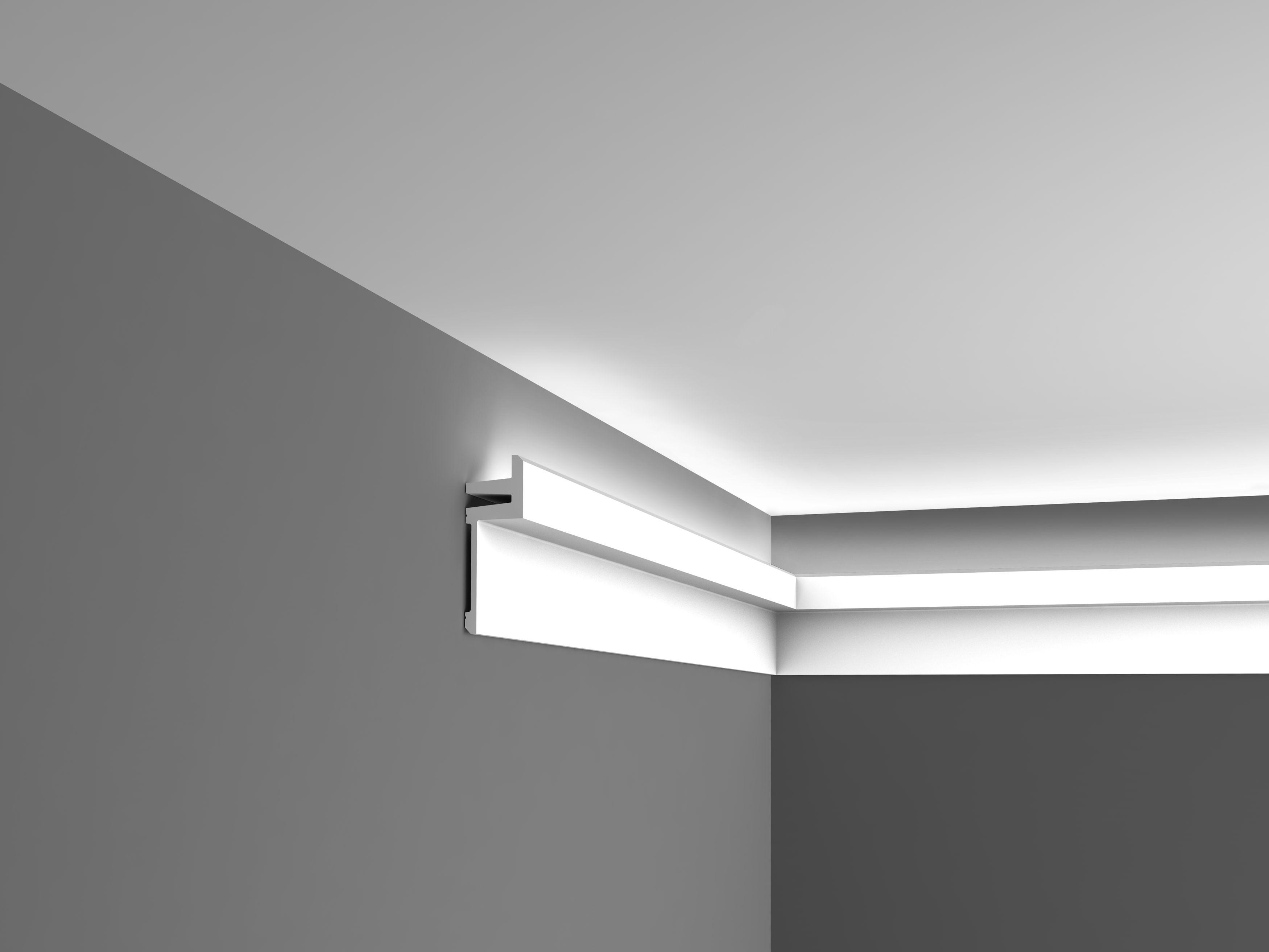 Moulure plafond moderne fashion designs - Variateur de lumiere brico depot ...