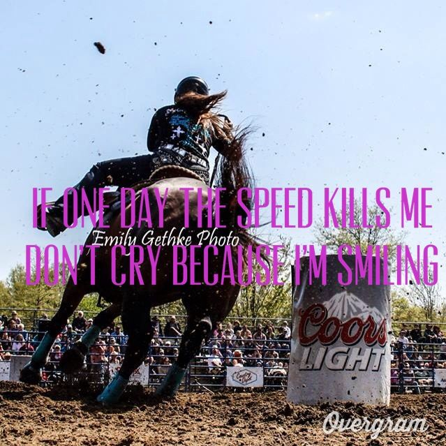 One Day If The Speed Kills Me Don T Cry Because I M Smiling