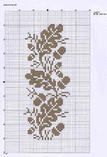 luli: autunno - cross-stitch pattern