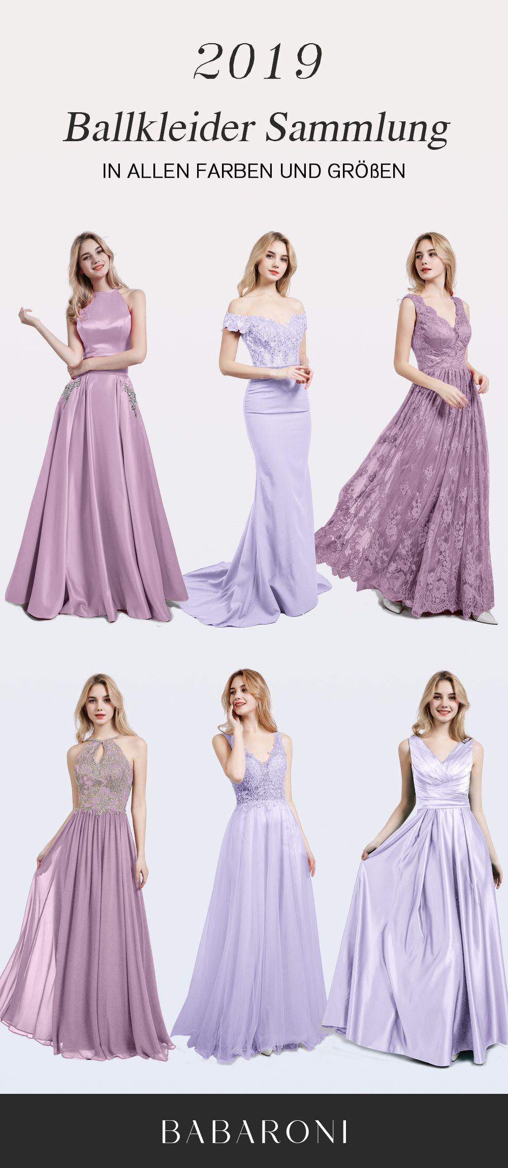Brautjungfernkleider  Lila kleid, Lila abendkleid, Günstige