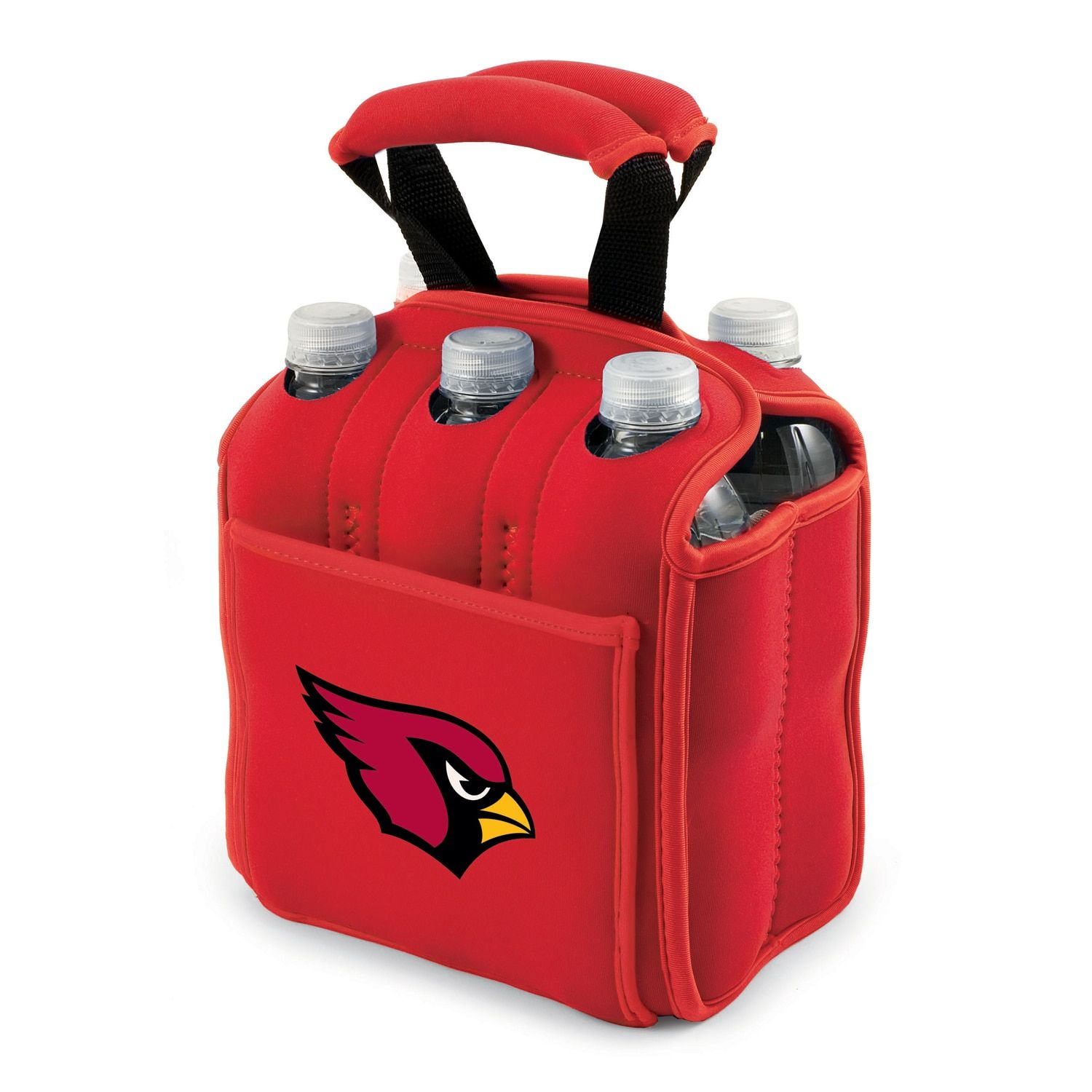 Picnic Time Arizona Cardinals Insulated Beverage Cooler Picnic Time Drink Carrier Beverage Cooler