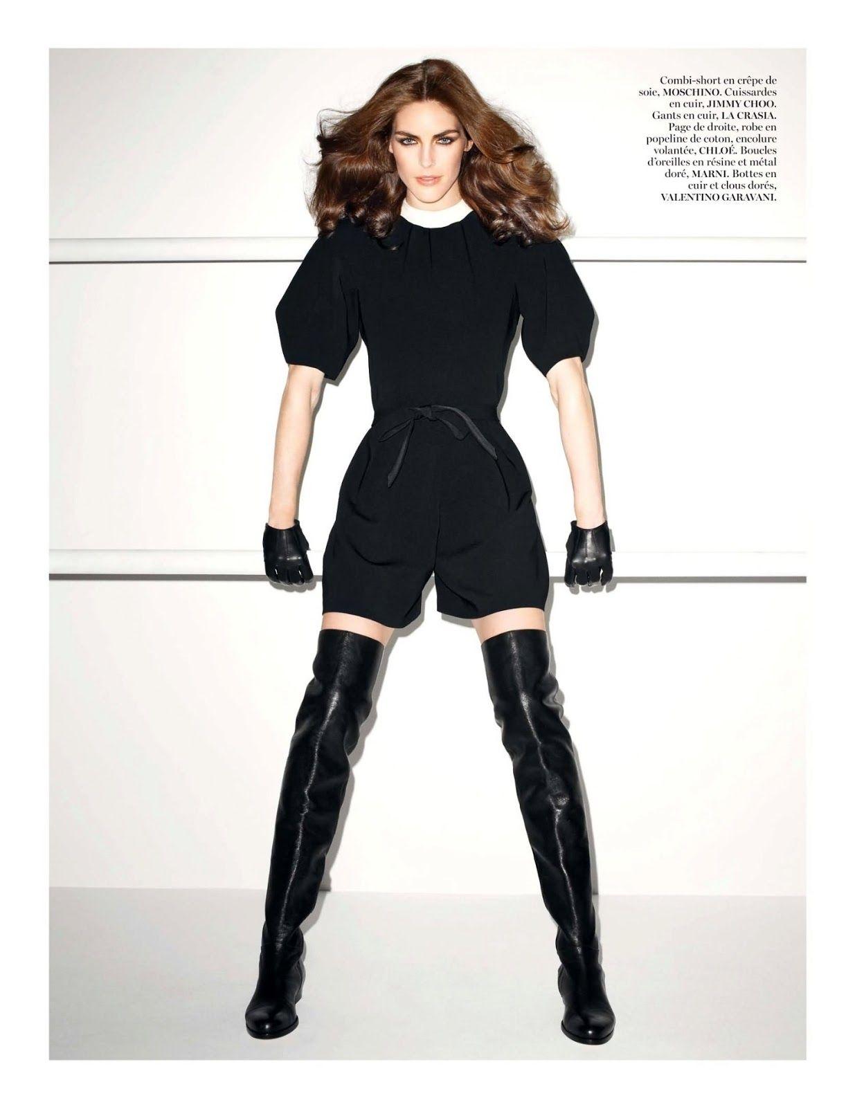 #HilaryRhoda by #TerryRichardson for #VogueParis June/July 2013
