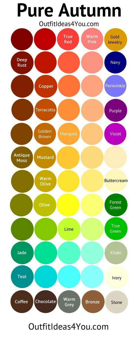 Tipps, Farben, Farbkombinationen, Farbschemata, Farbmuster,  Herbst Farbpalette, Warme Farben, Farbrad, Frühlingsfarben